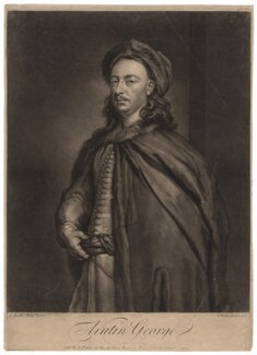 Arutin George, by and sold by John Faber Jr, after  Sir Godfrey Kneller, Bt - NPG D2402