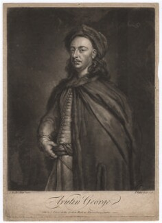 Arutin George, by and sold by John Faber Jr, after  Sir Godfrey Kneller, Bt - NPG D2403