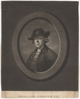 Phillips Glover, by James Watson, after  John Russell - NPG D2406