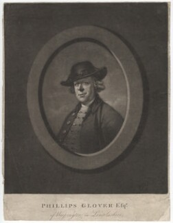 Phillips Glover, by James Watson, after  John Russell - NPG D2407