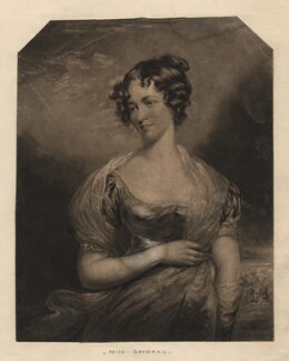 Miss Goodall, by William Ward, after  Thomas Ellerby - NPG D2408
