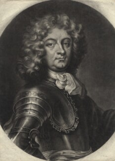 Henri de Massue de Ruvigny, 1st Earl of Galway, by John Simon, after  P. de Graves - NPG D2412