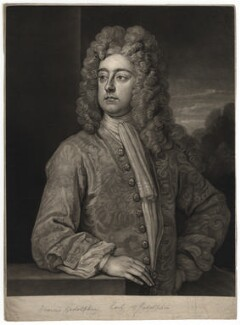 Francis Godolphin, 2nd Earl of Godolphin, by John Faber Jr, after  Sir Godfrey Kneller, Bt - NPG D2444