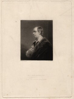 Oliver Goldsmith, by Samuel William Reynolds, published by  Hodgson, Boys & Graves, after  Sir Joshua Reynolds - NPG D2445