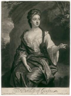 Isabella FitzRoy (née Bennet), Duchess of Grafton, by John Smith, after  Sir Godfrey Kneller, Bt - NPG D2462