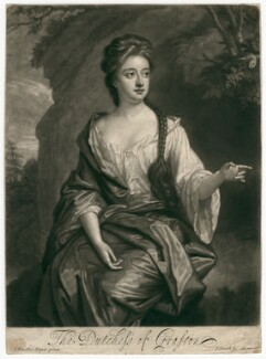 Isabella FitzRoy (née Bennet), Duchess of Grafton, by John Smith, after  Sir Godfrey Kneller, Bt - NPG D2463
