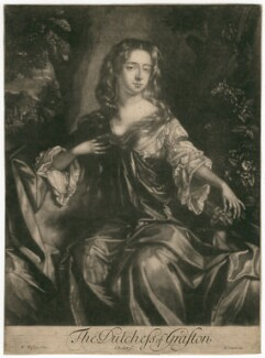 Isabella FitzRoy (née Bennet), Duchess of Grafton, by Isaac Beckett, after  Willem Wissing - NPG D2465