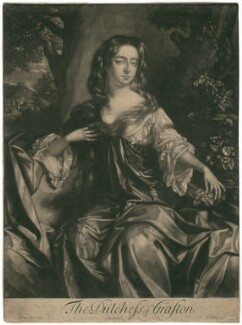 Isabella FitzRoy (née Bennet), Duchess of Grafton, by Isaac Beckett, after  Willem Wissing - NPG D2466