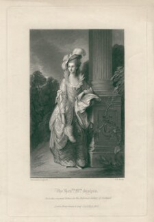 Mary Graham (née Cathcart), by George H. Every, after  Thomas Gainsborough - NPG D2471