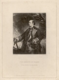 John Manners, Marquess of Granby, by Samuel William Reynolds, published by  Hodgson, Boys & Graves, sold by  Sir Francis Graham Moon, 1st Bt, after  Sir Joshua Reynolds - NPG D2476