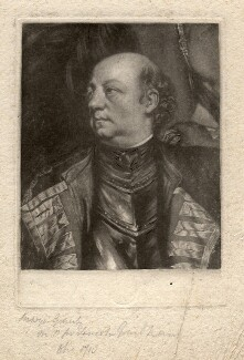 John Manners, Marquess of Granby, after Sir Joshua Reynolds - NPG D2477