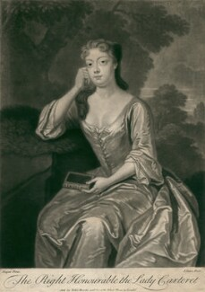 Frances Carteret (née Worsley), Lady Carteret, by John Simon, after  Charles D'Agar - NPG D2481