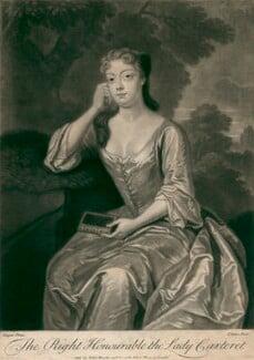 Frances Carteret (née Worsley), Lady Carteret, by John Simon, after  Charles D'Agar - NPG D2481