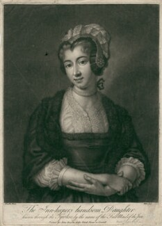 Sophia Carteret (née Fermor), Countess Granville, by John Faber Jr, printed for  John Bowles, after  Rosalba Carriera - NPG D2483