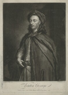 Arutin George, by and sold by John Faber Jr, after  Sir Godfrey Kneller, Bt - NPG D2489