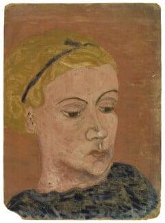 Ursula Margaret Wentzel (née Strachey), by Ray Strachey - NPG D250