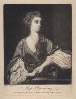 Elizabeth Napier (née Greenway), published by Carington Bowles, after  Sir Joshua Reynolds, (1765) - NPG D2500 - © National Portrait Gallery, London