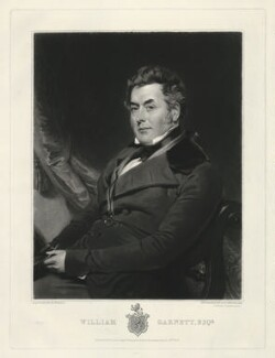 William Garnett, by Samuel William Reynolds, published by  Thomas Agnew, after  Henry Wyatt - NPG D2509