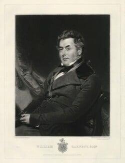 William Garnett, by Samuel William Reynolds, published by  Thomas Agnew, after  Henry Wyatt - NPG D2509