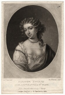 Nell Gwyn, by Richard Earlom, published by  Samuel Woodburn, after  Samuel Cooper - NPG D2514