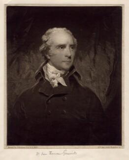 Thomas Grenville, by William Say, after  John Hoppner - NPG D2524