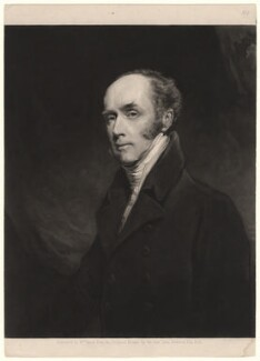 Charles Grey, 2nd Earl Grey, by William James Ward, after  John Jackson - NPG D2527
