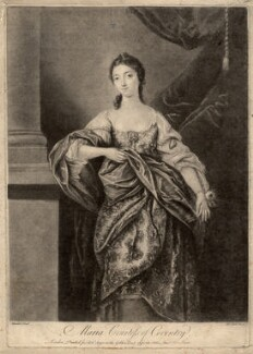 Maria (née Gunning), Countess of Coventry, by James Macardell, after  Gavin Hamilton - NPG D2531
