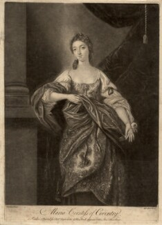 Maria (née Gunning), Countess of Coventry, by James Macardell, after  Gavin Hamilton - NPG D2532