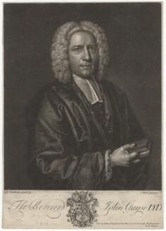 John Guyse, by John Faber Jr, sold by  John Oswald, after  Richard van Bleeck - NPG D2535