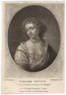 Eleanor ('Nell') Gwyn, by Richard Earlom, published by  Samuel Woodburn, after  Samuel Cooper, published 1810 - NPG D2544 - © National Portrait Gallery, London