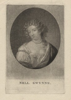 Nell Gwyn, by Richard Earlom, after  Samuel Cooper - NPG D2545
