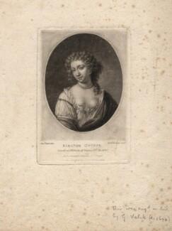 Eleanor ('Nell') Gwyn, by Richard Earlom, published by  Samuel Woodburn, after  Samuel Cooper, published 1810 - NPG D2546 - © National Portrait Gallery, London