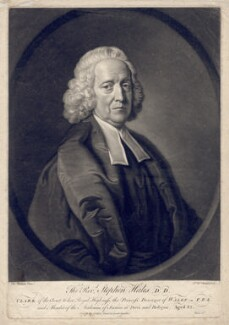 Stephen Hales, by James Macardell, after  Thomas Hudson - NPG D2555