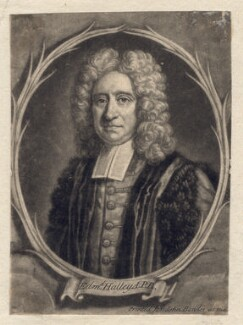 Edmond Halley, by Francis Kyte, after  Thomas Murray - NPG D2561