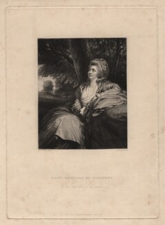 Mary Harcourt (née Danby), Countess of Harcourt, by Samuel William Reynolds, after  Sir Joshua Reynolds - NPG D2569
