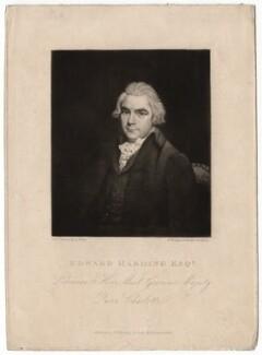 Edward Harding, by Samuel William Reynolds, after  Sir Martin Archer Shee - NPG D2570