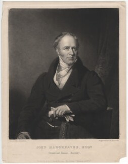 John Hargreaves, by Samuel William Reynolds, published by  Agnew & Zanetti, after  James Lonsdale - NPG D2571