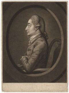 Sir Henry Harpur, 6th Bt, by John Raphael Smith, after  Unknown artist - NPG D2572
