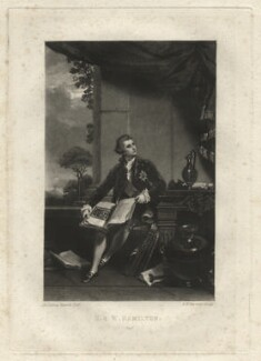 Sir William Hamilton, by Samuel William Reynolds, after  Sir Joshua Reynolds - NPG D2580