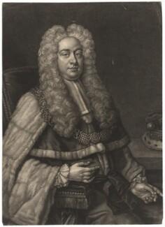 Philip Yorke, 1st Earl of Hardwicke, by John Faber Jr, after  Michael Dahl, 1735 - NPG D2587 - © National Portrait Gallery, London