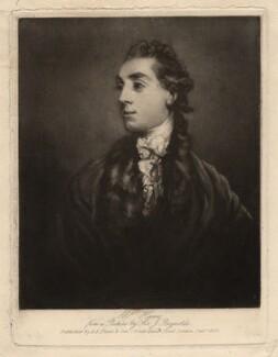James Hare, by Samuel William Reynolds, published by  A.E. Evans & Son, after  Sir Joshua Reynolds - NPG D2593