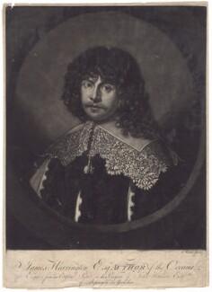 James Harrington, by Giuseppe Filippo Liberati ('Joseph') Marchi - NPG D2597