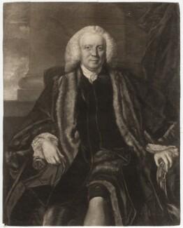 Sir Thomas Harrison, by Edward Fisher, after  Sir Joshua Reynolds - NPG D2598