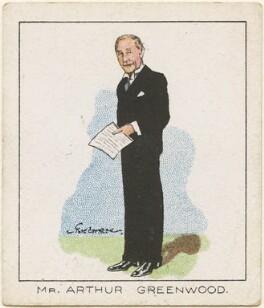 Arthur Greenwood, by Tom Cottrell - NPG D2618