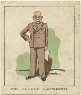 George Lansbury, by Tom Cottrell - NPG D2622