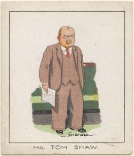 Thomas Shaw, by Tom Cottrell - NPG D2633