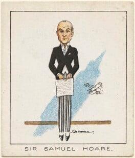 Samuel John Gurney Hoare, Viscount Templewood, by Tom Cottrell - NPG D2637