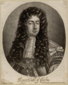 Henry FitzRoy, 1st Duke of Grafton, by Isaac Beckett, after  Sir Godfrey Kneller, Bt - NPG D2646
