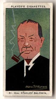 Stanley Baldwin, 1st Earl Baldwin, by Alexander ('Alick') Penrose Forbes Ritchie - NPG D2653