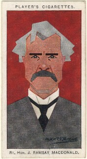 Ramsay MacDonald, by Alexander ('Alick') Penrose Forbes Ritchie - NPG D2680